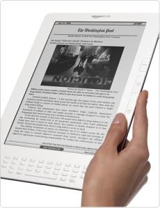 Kindle DX. Leitura agradável.